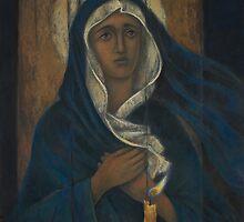 While candle is still alights by Vera Kalinovska