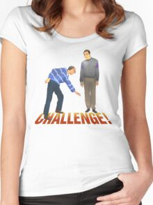 Challenge! Women's Fitted Scoop T-Shirt