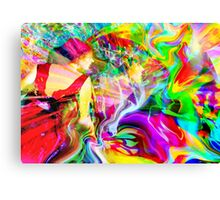 Color Burn Canvas Print