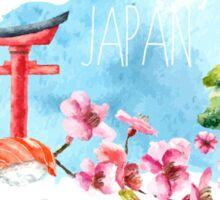 japan with the fam mk II Sticker