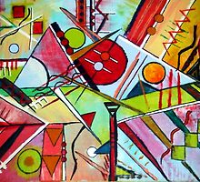 Homage to Kandinsky by Eno Bare