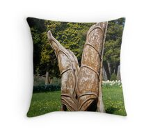 Leaving Touch Throw Pillow