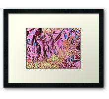 Canyon Fantasy Framed Print