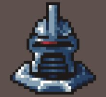 Pixel Cylon with collar by mikiex