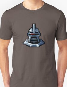 Pixel Cylon with collar T-Shirt