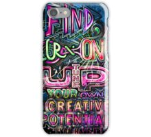 CREATIVE POTENTIAL invert iPhone Case/Skin