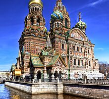 The Church of Our Saviour on Spilled Blood by Roddy Atkinson