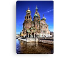 The Church of Our Saviour on Spilled Blood Canvas Print