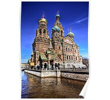 The Church of Our Saviour on Spilled Blood Poster