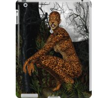 The Jungle Cat .. Fantasy iPad Case/Skin