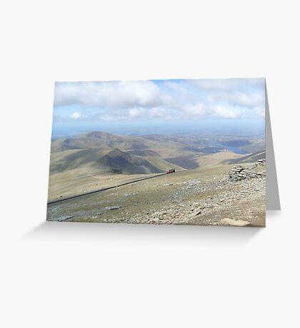 Snowdon Greeting Card
