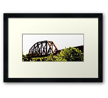 The Crossover Framed Print