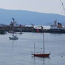 Fair Haven Dock by Robert  Miner