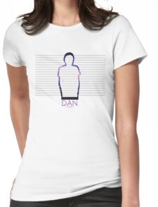 Dan Howell Galaxy Outline Womens Fitted T-Shirt