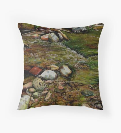 Creeky Throw Pillow