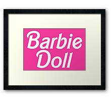 Barbie Doll Framed Print