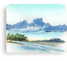 AFTER THE RAIN - AQUAREL Canvas Print