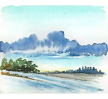 AFTER THE RAIN - AQUAREL Photographic Print