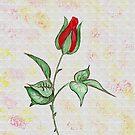 A Rosebud for Mom by Anne Gitto