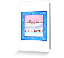 EARLY IN THE MORNING - AQUAREL Greeting Card