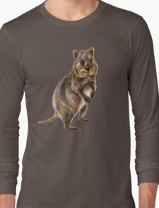 Cute little quokka Long Sleeve T-Shirt