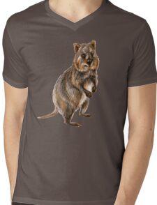 Cute little quokka Mens V-Neck T-Shirt