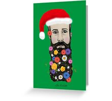 Floral He (Christmas Edition) Greeting Card