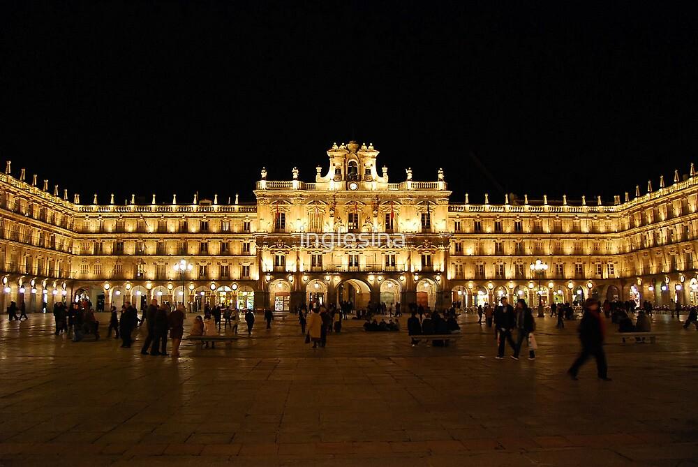Plaza Major, Salamanca by inglesina