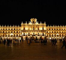 Plaza Major, Salamanca by inglesina