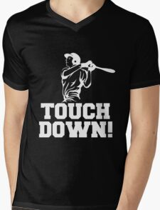 Touchdown! Mens V-Neck T-Shirt
