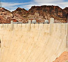 Hoover's Dam by Charles Dobbs Photography