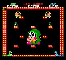 Bubble Bobble #01 by themasrix