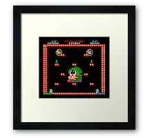 Bubble Bobble #01 Framed Print
