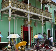 Green Mansion - Penang by Colin  Ewington