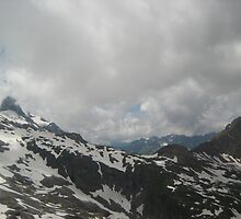 Over the Rise - Titlis, CH by Danielle Ducrest