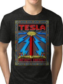 TESLA COIL - INFINITE ENERGY Tri-blend T-Shirt