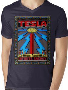 TESLA COIL - INFINITE ENERGY Mens V-Neck T-Shirt