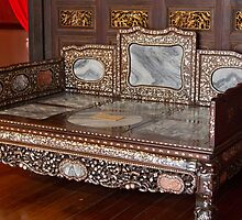 Opium Bed - Penang by Colin  Ewington