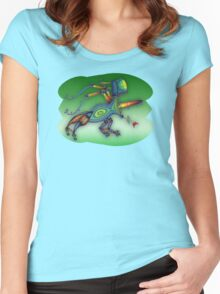 robot insect - m. a. weisse Women's Fitted Scoop T-Shirt