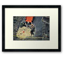 Miniature Murder Framed Print