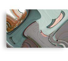 Hatchet Abstract Canvas Print