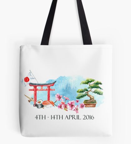 japan with the fam mk II Tote Bag