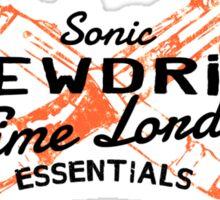 Time Lord Essentials - Sonic Screwdriver Sticker