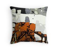 Hopi Village at Night Throw Pillow