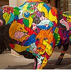 COLORFUL BISON by Joe Powell