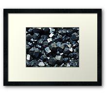The Hidden Land - Landslide! Framed Print