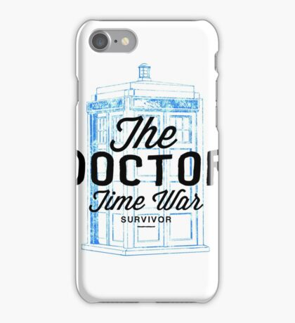 The Doctor - Time War Survivor iPhone Case/Skin
