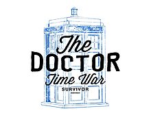 The Doctor - Time War Survivor Photographic Print