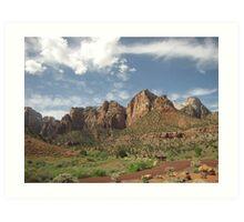 Majestic Mountains Art Print