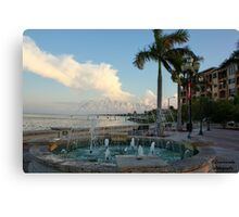 downtown ft pierce Canvas Print